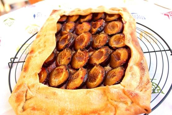 Tarta de prunes